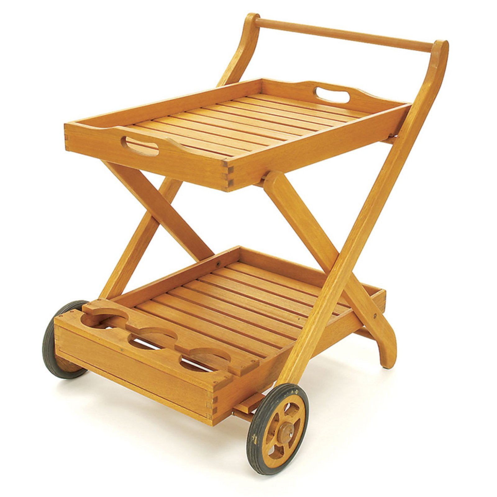 Achla Designs Outdoor Serving Cart with Tray