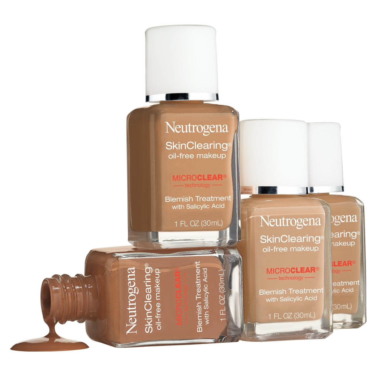 neutrogena skin clearing oil free