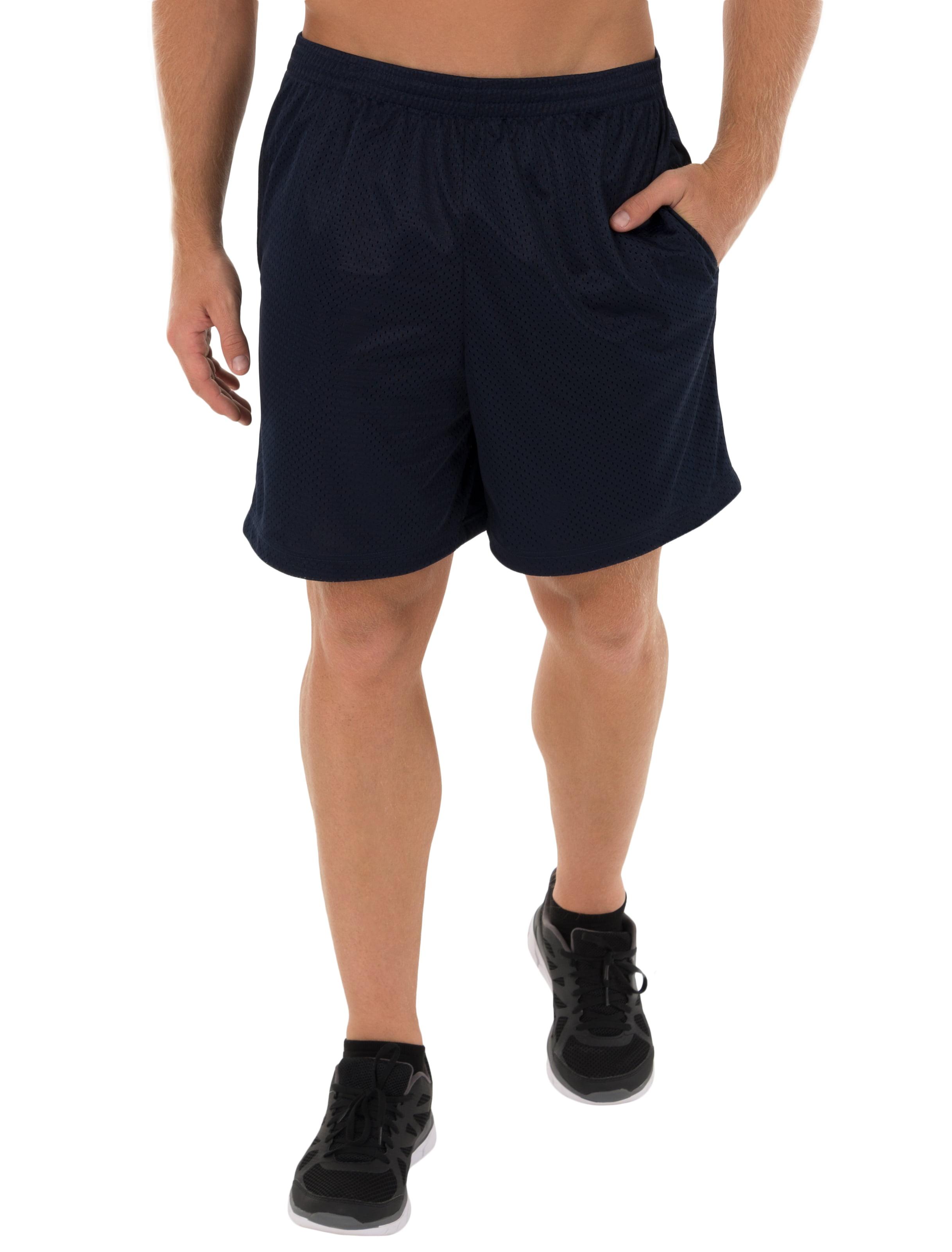 Athletic Works Big Men's Activewear Performance Rice Hole Short