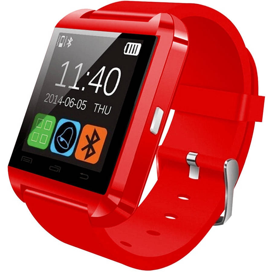 DGL Group Hype  -  Bluetooth Smart Watch for IOS and Android -  Red
