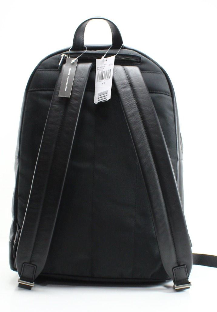 72da5e3851a1 MICHAEL KORS NEW Black Pebble Leather Odin Resina Men's Backpack Bag -  Walmart.com
