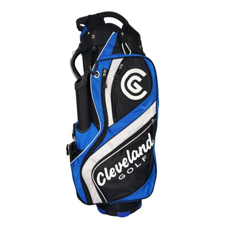 Cleveland Golf Single Carry Strap Riding Cart Bag With 14 Club Divider, (Best Carry Golf Bag With 14 Dividers)