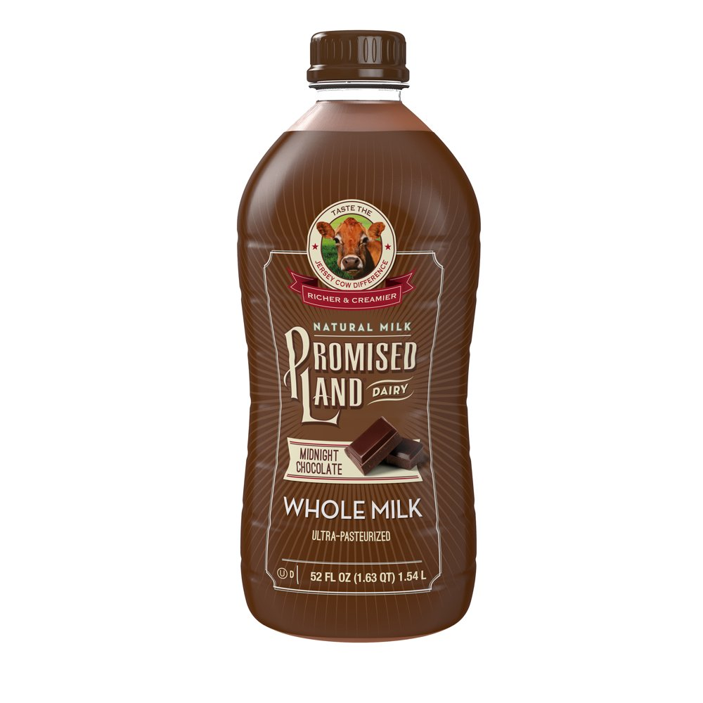 Promised Land Dairy Midnight Chocolate Whole Milk with ...