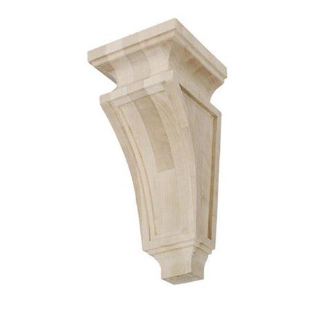 (American Pro Decor 5APD10456 Large Mission Wood Corbel)