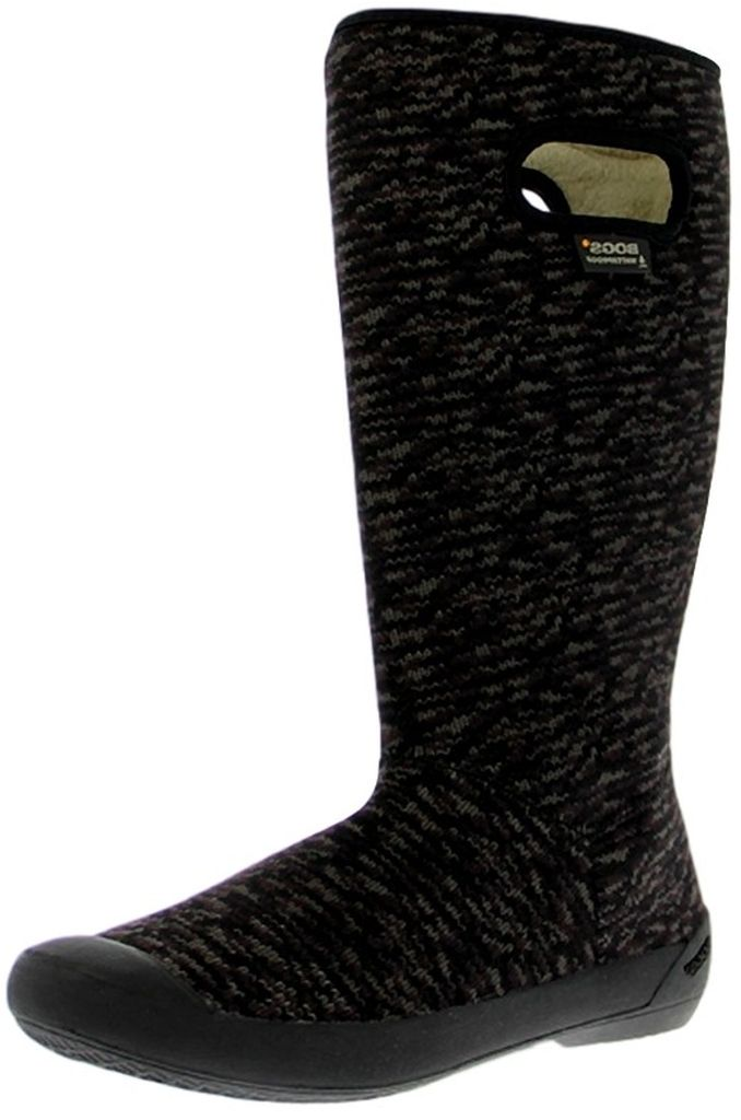 "Bogs Boots Womens 14"" Summit Buffalo Knit Machine Washable 71616 by Bogs"