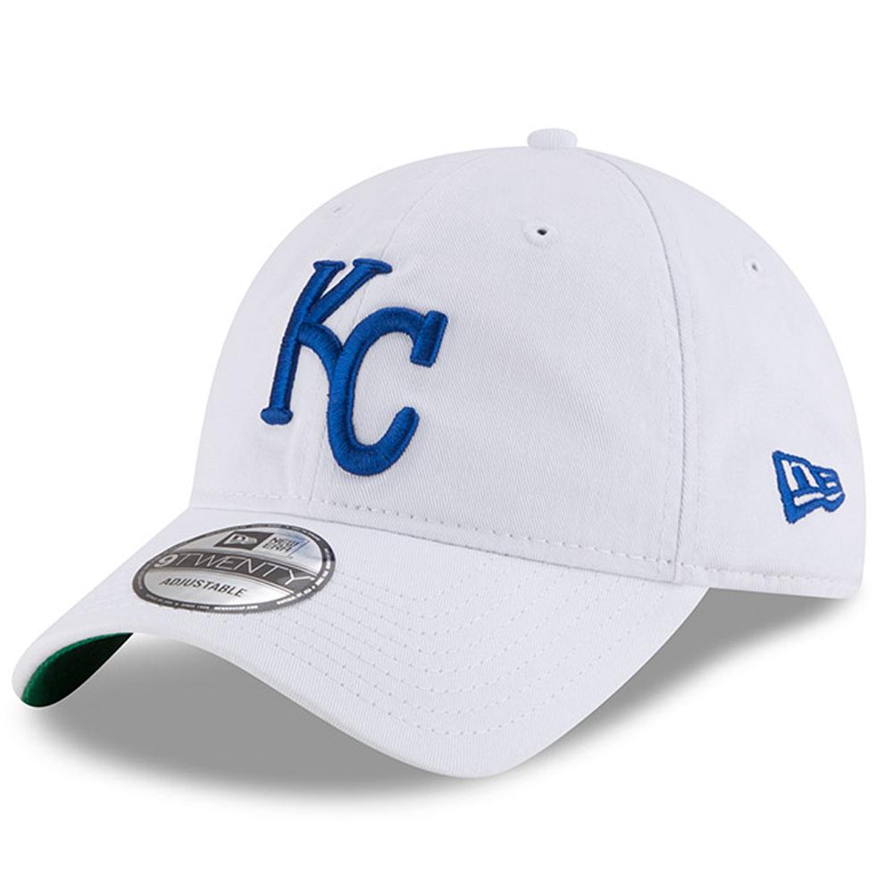 Kansas City Royals New Era Classic 9TWENTY Adjustable Hat - White - OSFA