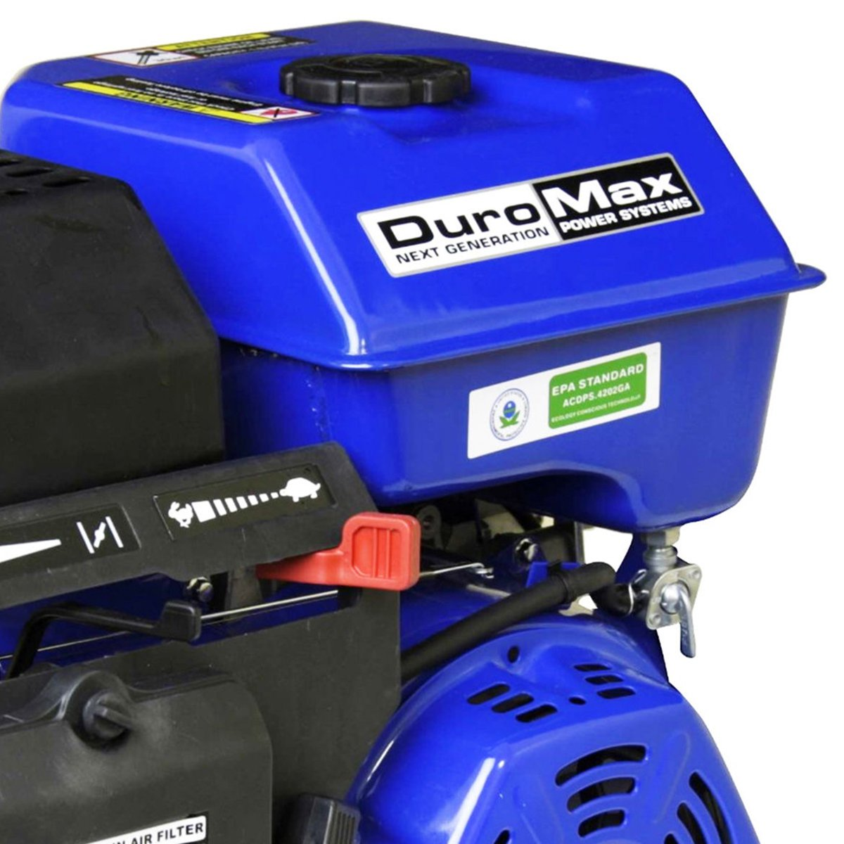 """DuroMax 16 Hp 1"""" Shaft Electric/Recoil Start Engine"""