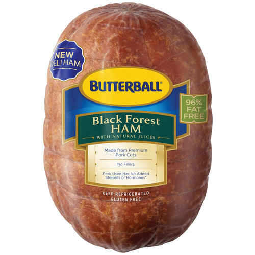 Butterball Black Forest Ham, Deli Sliced 1lb.