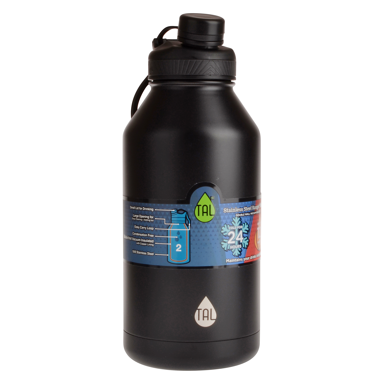 Tal Stainless Steel 60 Oz Water Bottle Red Walmart Com