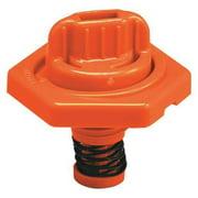 TRICO 24015 Breather Vent,HDPE,1.50 in. H,Orange