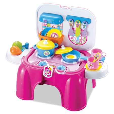 Berry Toys My First Portable Play and Carry Kitchen / Bench Play Set
