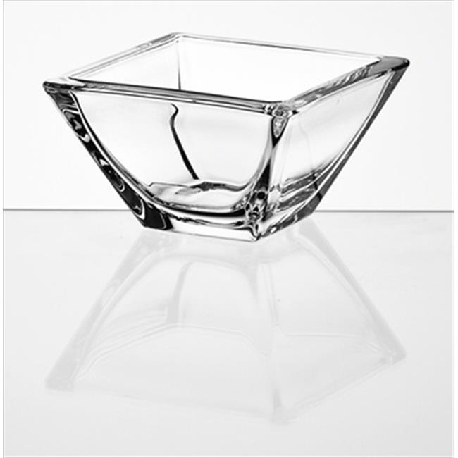 Majestic Gifts E63068-US Ducale 5. 5 x 5. 5 inch High Quality Glass Individual Bowl- case of 6