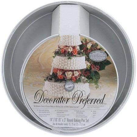 Wilton Decorator Preferred Cake Pan Set, Round 3 ct. 2105-6114
