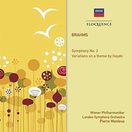 Brahms: Sym 2 Variations on a Theme By Haydn (CD)