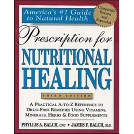 Tribest GPBJB01 Prescription For Nutritional Healing - Book By James Balch M.D. And Phyllis Balch