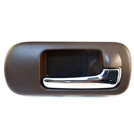 HO-2572MB-FR Inside Door Handle, Passenger Side, Front, Brown Housing, Chrome Lever, 4-Door Sedan Only, Passenger Side, Front By PT Auto Warehouse