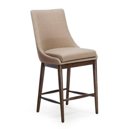 Belham Living Carter Mid Century Modern Upholstered Counter-Height (Belham Living Carter Mid Century Modern Bar Cart)