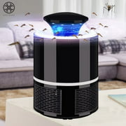 Luxtrada Electric Fly Bug Zapper USB Mosquito Insect Killer LED Light Trap Lamp Pest Control (White,Big Size)