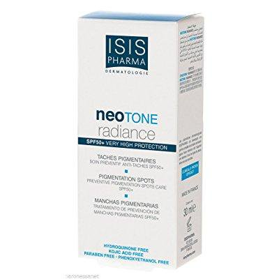 isis pharma neotone radiance whitening cream spf 50+ 30ml good for you - Isis Crank Removal