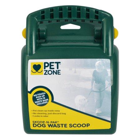 Pet Zone 2550012649 Pet Zone Scoop-N-Pak Dog Waste Bags