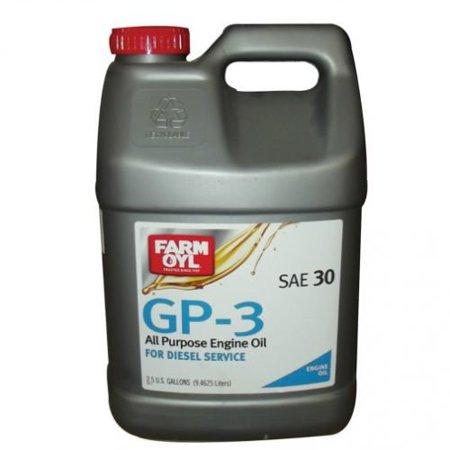 30w Engine Oil (Farm Oyl GP-3 All Purpose Engine Oil, 30W, 2.5 Gallons)