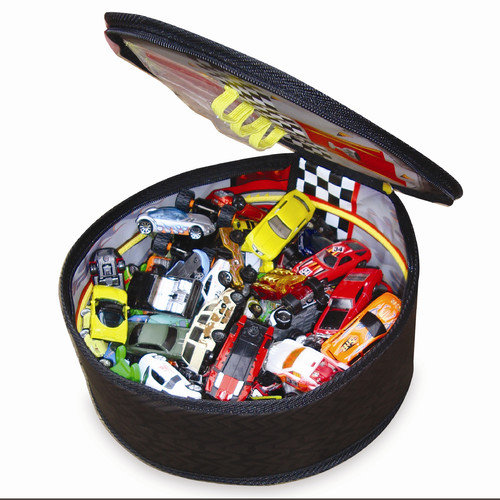 ZipBin Full Throttle  Wheelie Race Track  Case