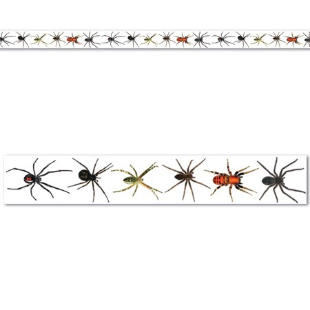 Club Pack of 12 Halloween Scary Spiders Party Tape Streamers...