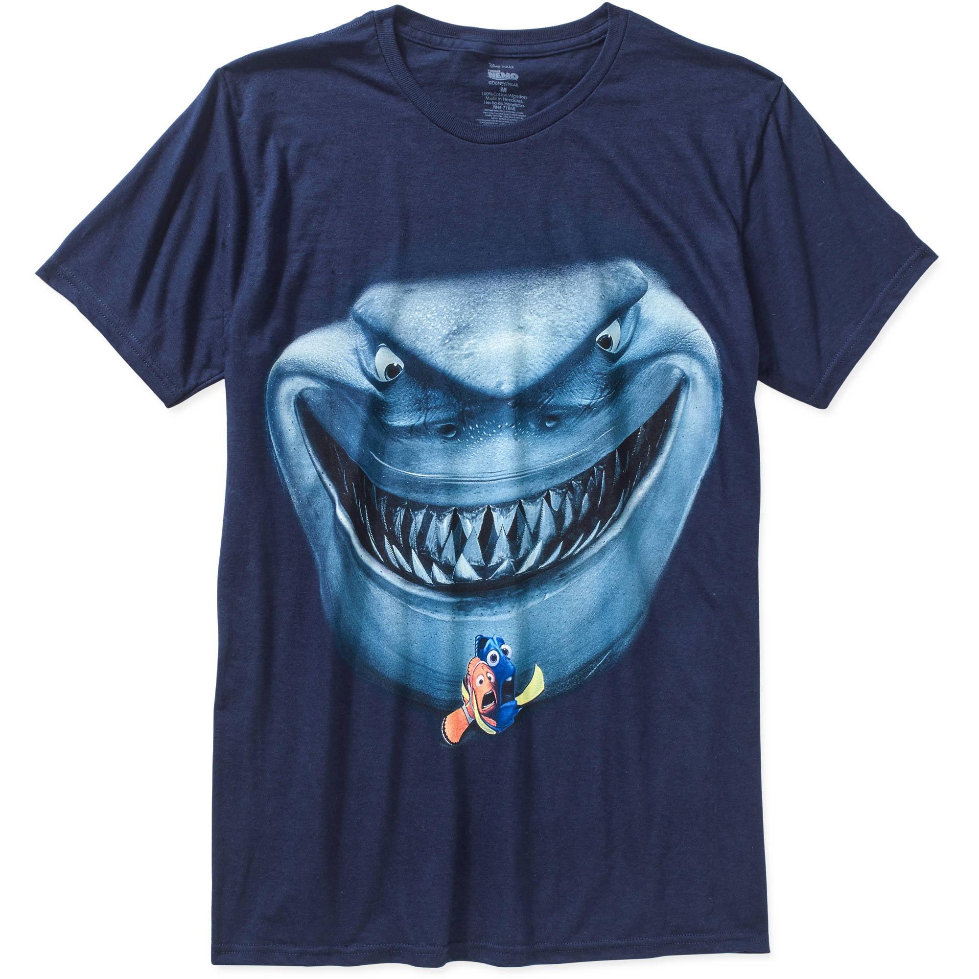 Finding Nemo Shark Men's Graphic Tee
