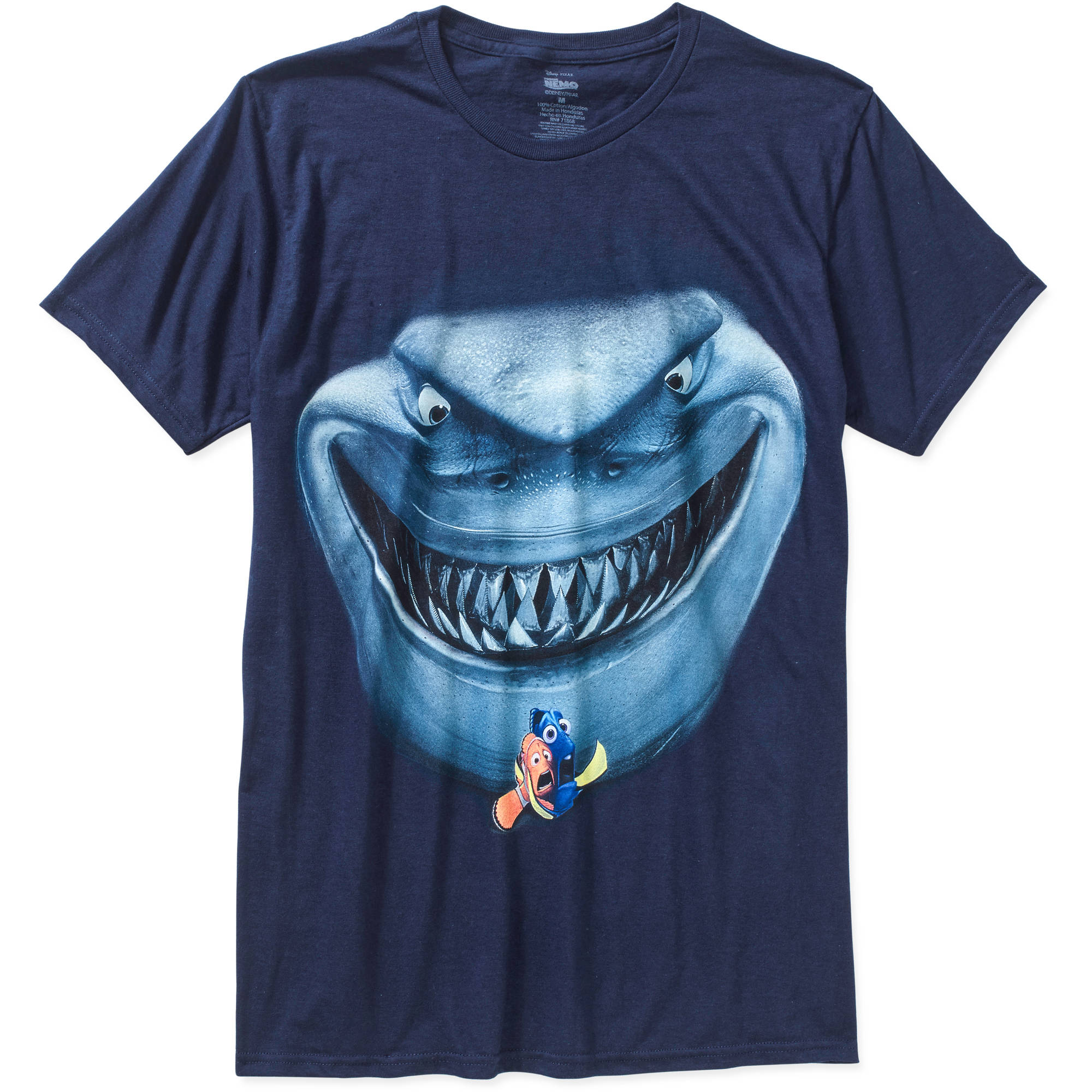 Finding Nemo Shark Men's Graphic Tee