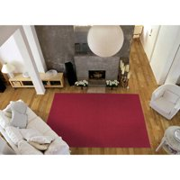 Garland Town Square Solid Silver 9'x12' Indoor Area Rug