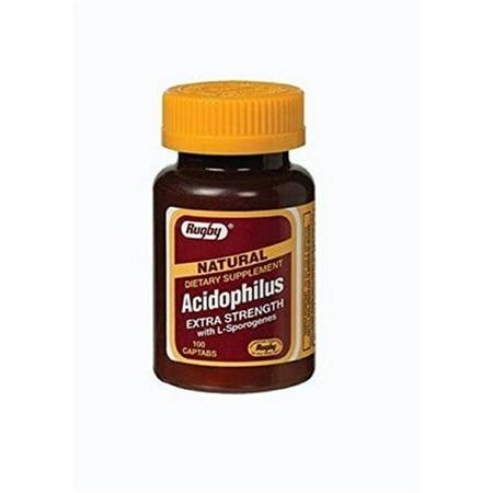 Acidophilus Caplets With Citrus Pectin - 100 Count