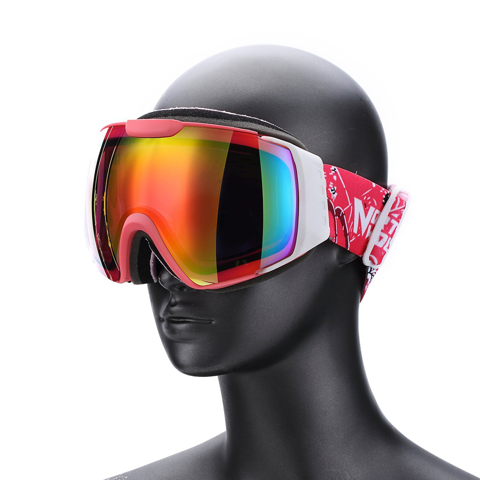 WEANAS Double Lens Anti-fog Snow Goggles Ski Goggles Eyewear, Lightweight Windproof Comfortable, for Snow, Skiing,... by Weanas