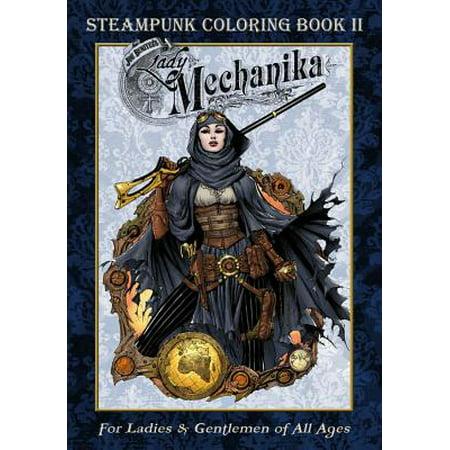 Lady Mechanika Steampunk Coloring Book Vol 2 - Lady Steampunk