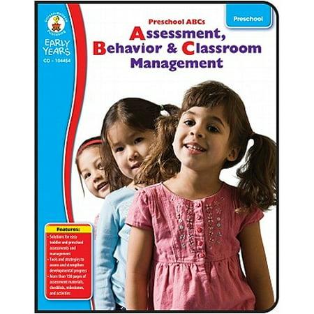 Preschool ABC's : Assessment, Behavior & Classroom Management (Halloween Crafts For Preschool Classroom)
