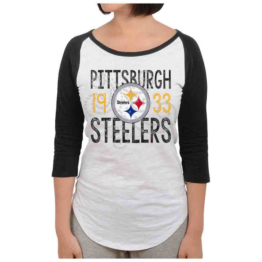 NFL Pittsburgh Steelers Juniors Long Sleeve Graphic Tee