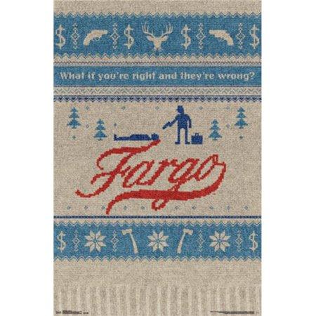 Posterazzi TIARP13833 Fargo - Season 1 Poster Print - 24 x 36 (Fargo 1 Light)