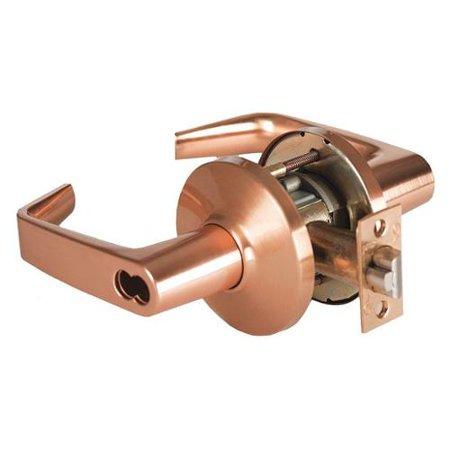 BEST 7KC 37 AB 14D S3 626 Lever Lockset,Mechanical,Entrance,Grd.