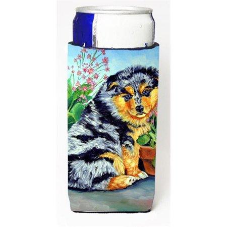 Australian Shepherd Puppy Michelob Ultra bottle sleeve for Slim Can - image 1 de 1