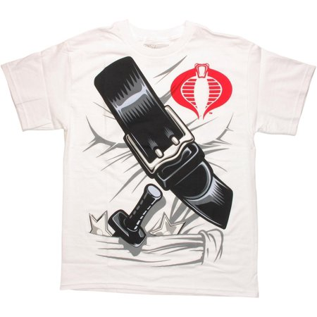 GI Joe Storm Shadow Suit T Shirt - Gi Joe Party Supplies