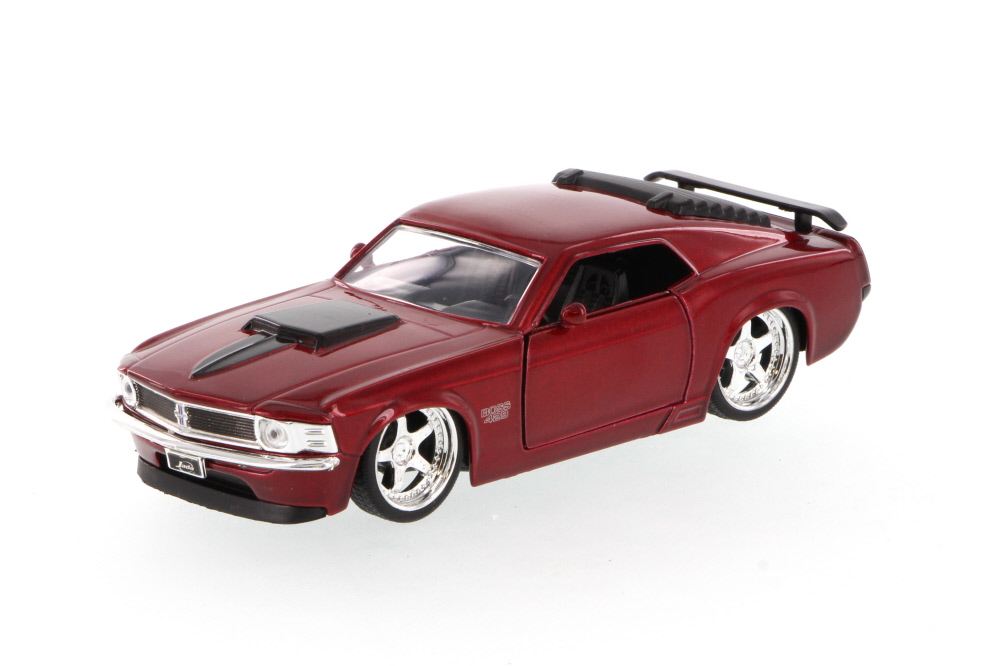 1970 Mustang Boss 429, Red Jada Toys 96941 1 32 scale Diecast Model Toy Car (Brand but NOT... by Jada