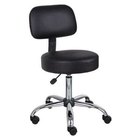 Nicer Furniture® Medical Drafting Chair Salon Stool with Back Cushion Tattoo Hydraulic Chair, (Best Rated Salon Chairs)