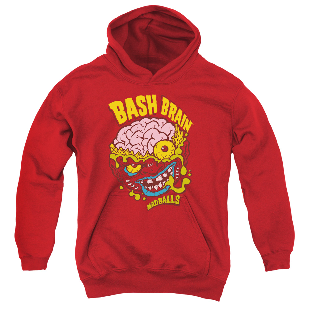 Madballs Bash Brain Big Boys Pullover Hoodie