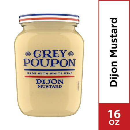 Grey Poupon Dijon Mustard, 16.0 oz Jar Dijon Gluten Free Mustard