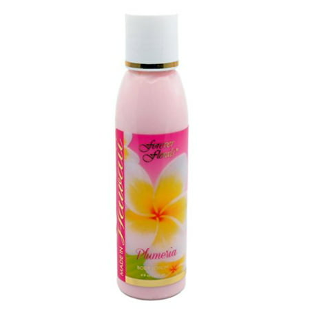 Hawaii Forever Florals Body Lotion 4 Bottles 4 oz. Each