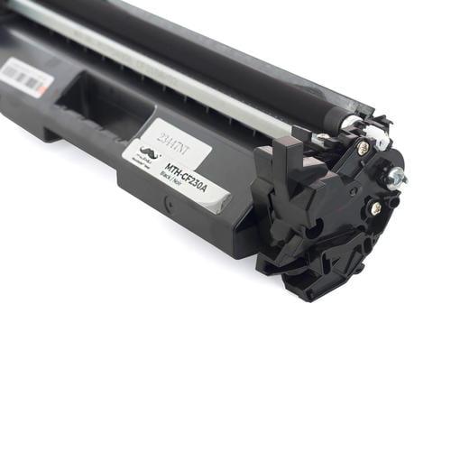 Compatible HP 30A CF230A Black Toner Cartridge for HP LaserJet M203d M203dn M203dw LaserJet Pro M203dn M203dw MFP M227d MFP M227fdn MFP M227fdw MFP M227sdn- Moustache® - image 1 of 4