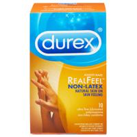 Durex Avanti Bare Ultra-Fine Lubricated Polyisoprene Non-Latex Condoms - 10 Condoms