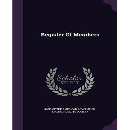 Register Of Members