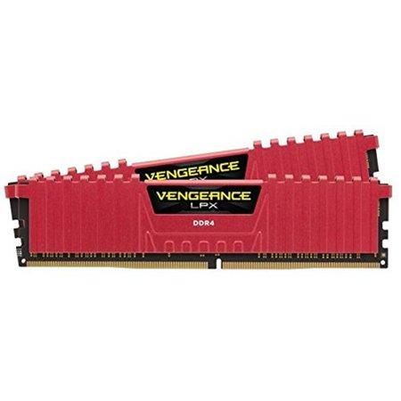 Corsair 16gb Ddr4 Sdram Memory Module - 16 Gb [2 X 8 Gb] - Ddr4 Sdram - 2400 Mhz Ddr4-2400/pc4-19200 - 1.20 V - Unbuffered - 288-pin - Dimm (cmk16gx4m2a2400c16r)