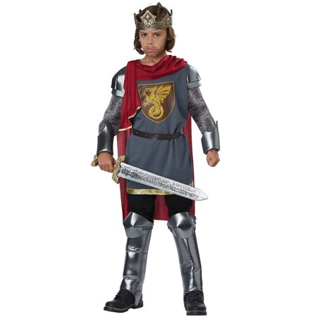 Medieval King/King Arthur Child Costume (Medieval Costumes For Children)