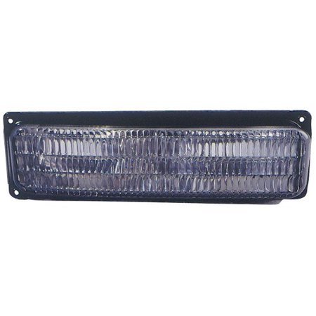 Compatible 1996 - 2002 GMC Savana 1500 Parking Light Assembly / Lens Cover - Left (Driver) Side 5977271 GM2520142 Replacement For GMC Savana 1500 1500 Parking Light Replacement